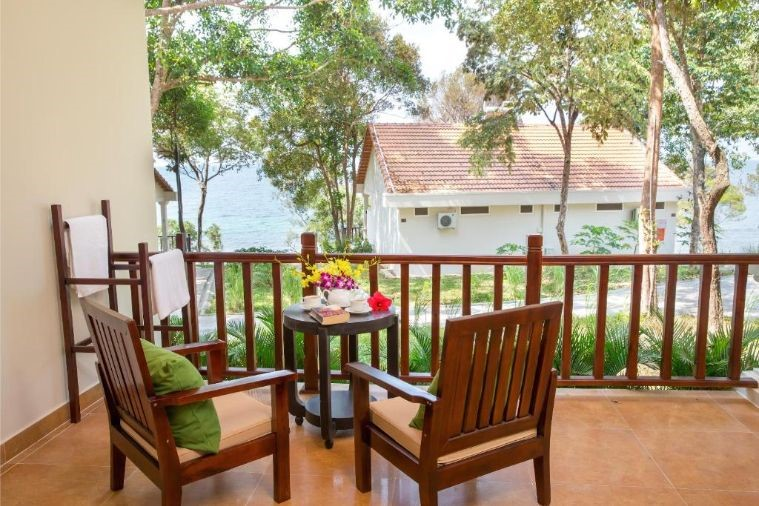 Phòng Villa Twin With Sea View