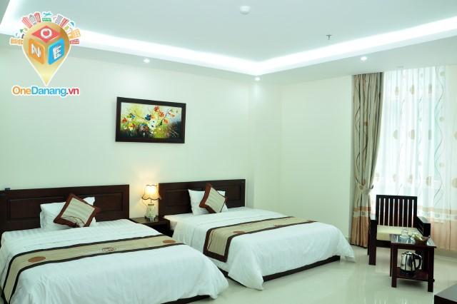 Phòng 2 giường đôi VIP 1