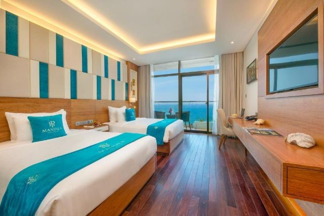 Phòng Deluxe Twin Ocean Front