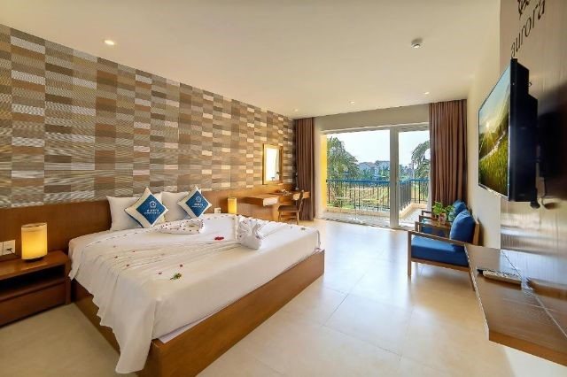Phòng Premium king room W.rice paddy view