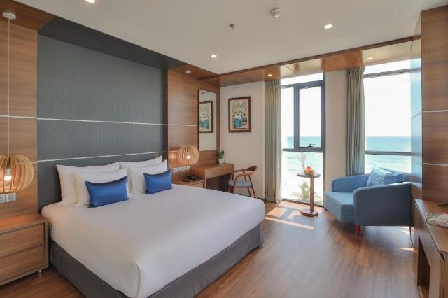 Phòng Deluxe Double Beach Front