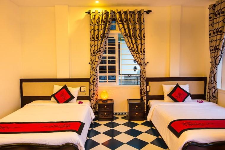 Deluxe Hai giường đơn