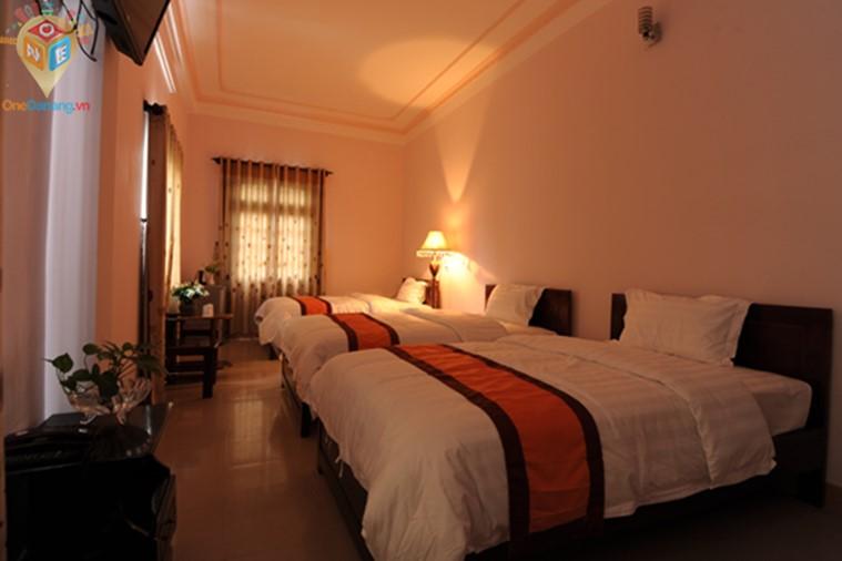 Phòng Standard 3 giường đơn 1,2m