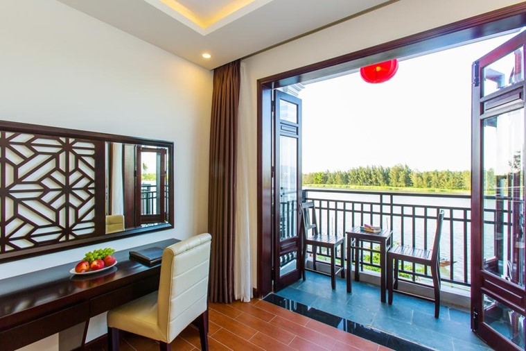 Phòng Deluxe Double River View