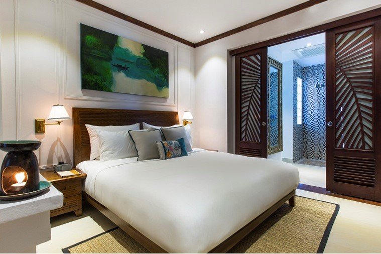 Phòng Deluxe Double Balcony