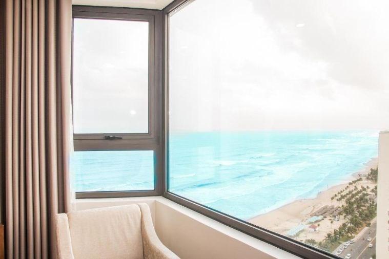 Phòng Deluxe Double Partial Ocean