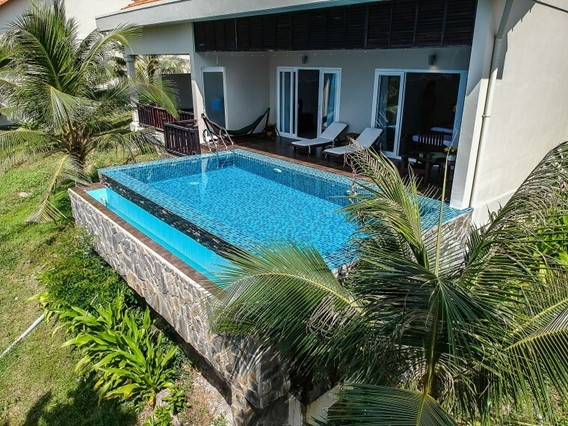 Two Bedrooms Ocean View Pool Villa