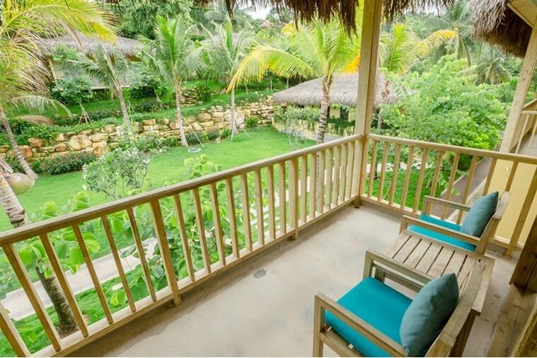 Phòng Deluxe Family Garden View