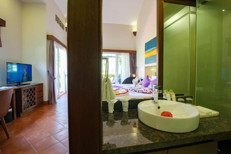 Phòng Deluxe Villa Twin