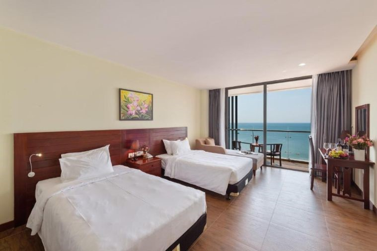 Phòng Deluxe Twin Ocean View