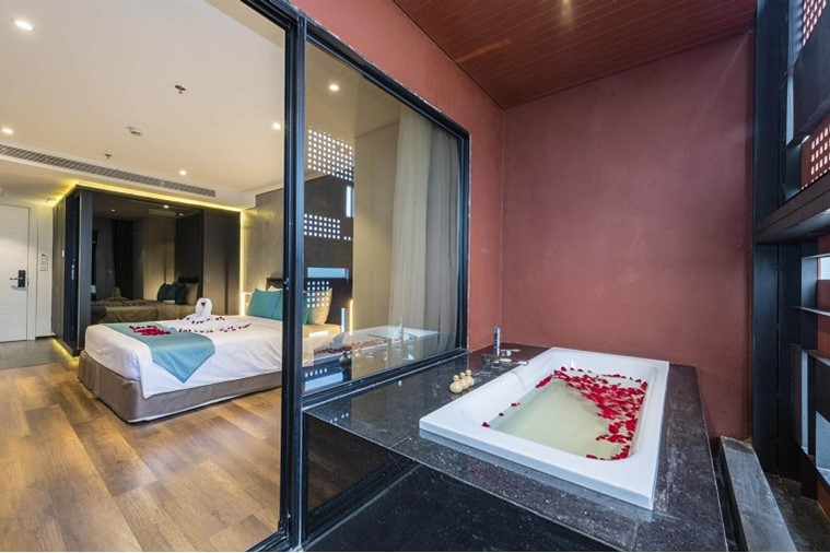 Phòng Executive Suite Double With Ocean