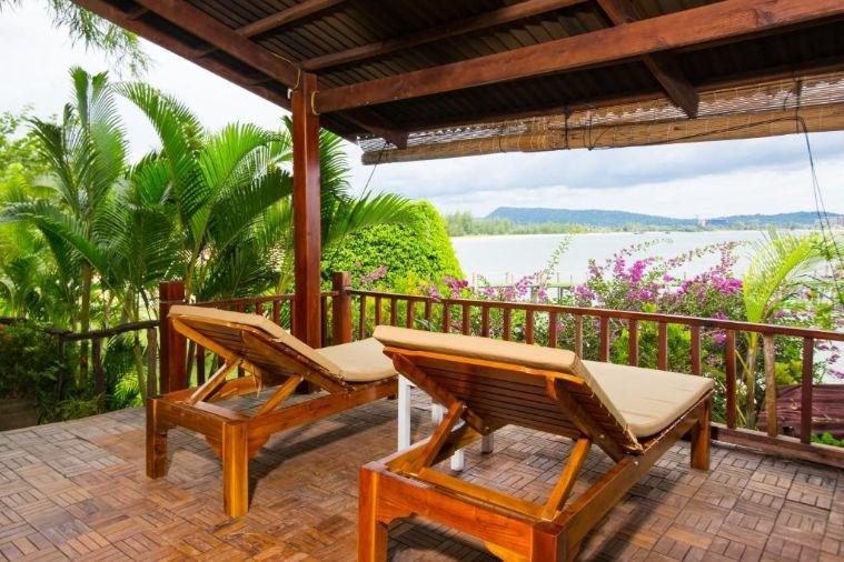Phòng Suite Villa Double Beach Front