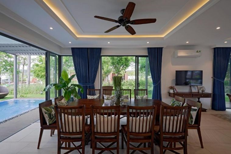 Phòng Sunset Villa 3 Bedrooms Garden View