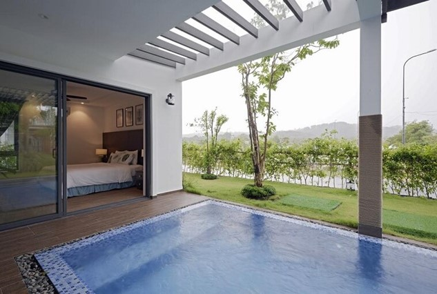 Phòng Sunset Villa 5 Bedrooms Garden View