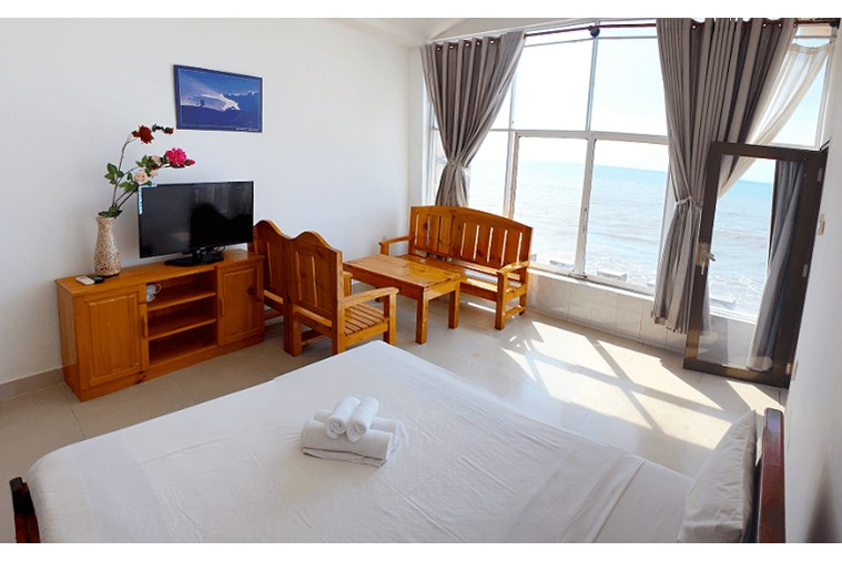 Phòng Deluxe Double Ocean view