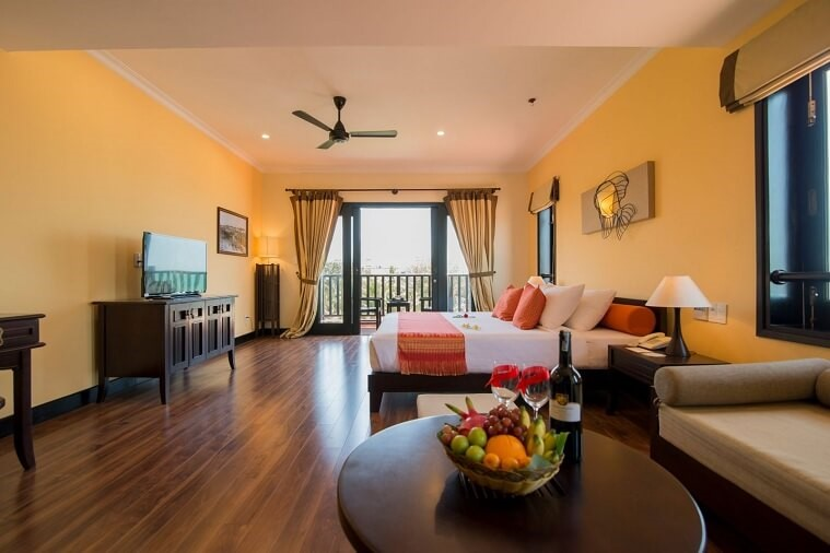 Phòng Deluxe Family Sea View