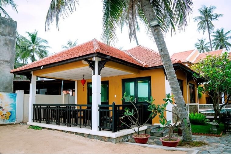 Phòng Family Bungalow Beach Front