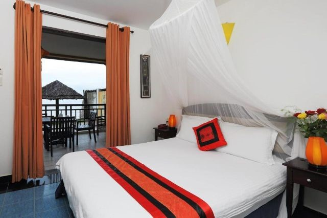 Phòng Deluxe Double Sea View