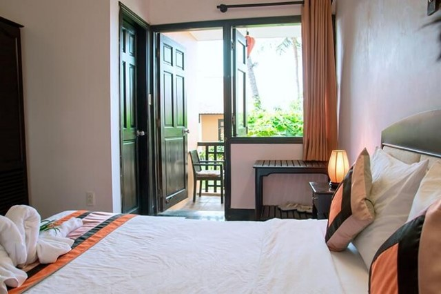 Phòng Deluxe Double Garden View