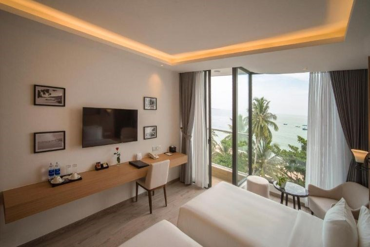 Phòng Senior Deluxe Twin Ocean View