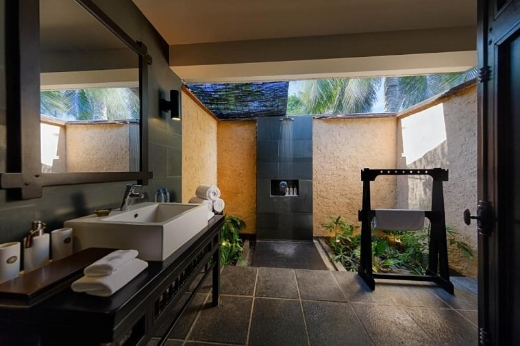 Biệt Thự 1 Phòng Ngủ Hồ Bơi Hướng Vườn
