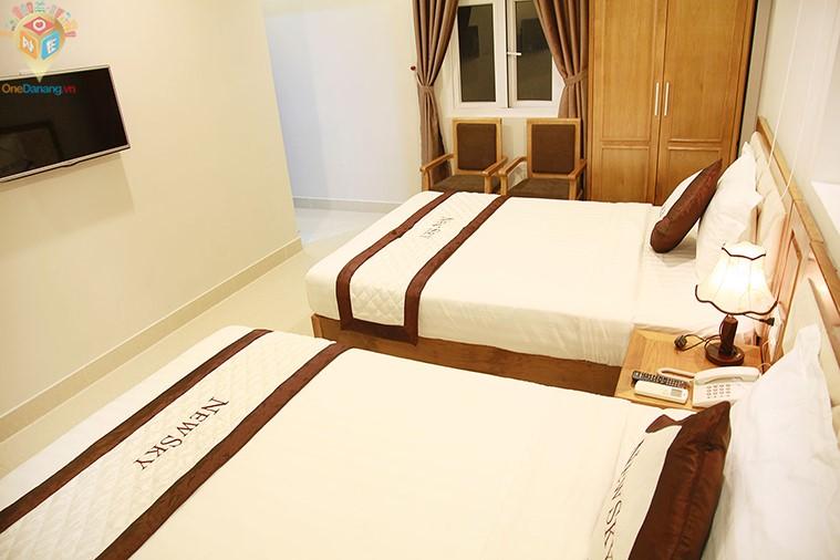 Phòng 2 giường hướng biển