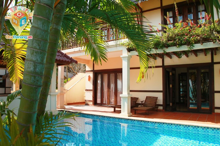 Two Bedroom Beach Front Villa ( First floor without kitchen
