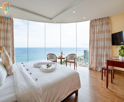 Phòng Deluxe Double With Sea View