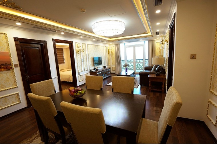 Phòng Golden President Suite Ocean View