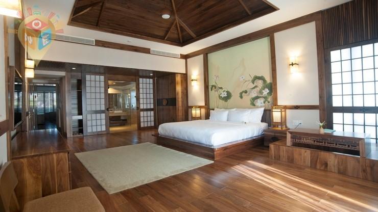 Phòng Lotus Suite Có ban công - Bữa sáng