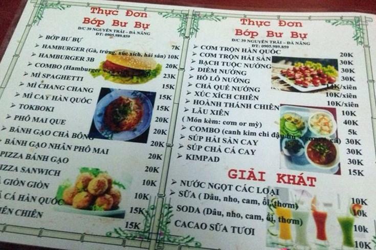 Bớp Bư Bự - Ẩm Thực Hàn Quốc - Nguyễn Trãi