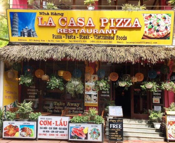 La Casa Pizza Restaurant - Sapa