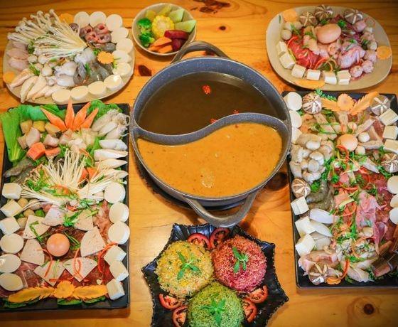 Nhà hàng buffet rau LeGuda - Đà Lạt