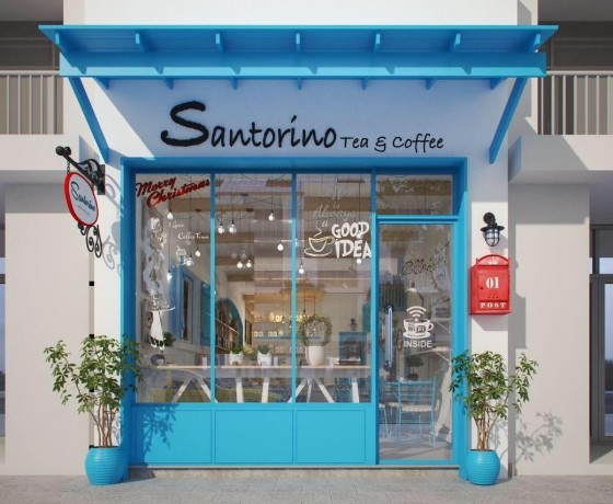 Santorino Coffee & Tea - Quy Nhơn