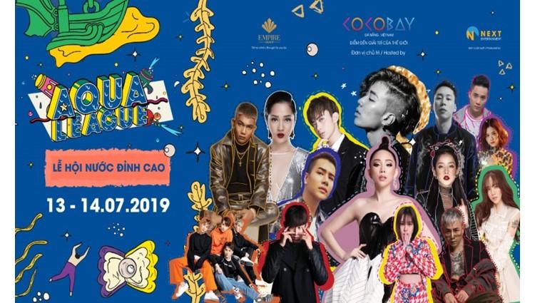 Giá vé Lễ hội nước Aqua League 2019 tại Cocobay Đà Nẵng