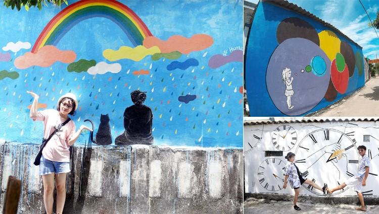 Check in ngay làng bích họa An Bình trên đảo Lý Sơn