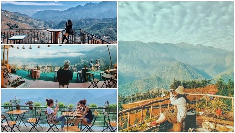 Top 5 quán cafe view siêu siêu đẹp khiến bạn không thể bỏ lỡ trong bộ ảnh núi rừng Sapa