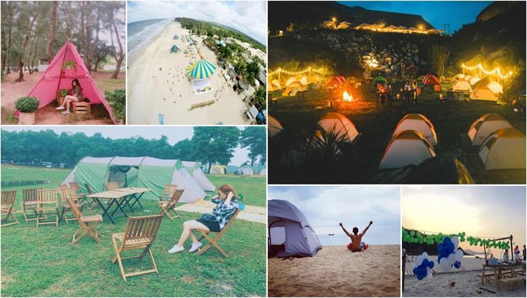Khám phá 10 khu cắm trại siêu đẹp cho bạn thỏa sức 'bung lụa' dịp nghỉ lễ, tết
