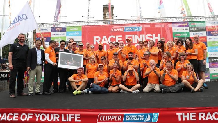 Đội Đà Nẵng về đích thứ 7 cuộc đua thuyền buồm vòng quanh thế giới