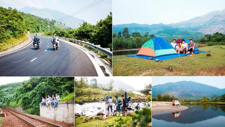 Cắm trại tại ngôi làng bỏ hoang tại Đà Nẵng