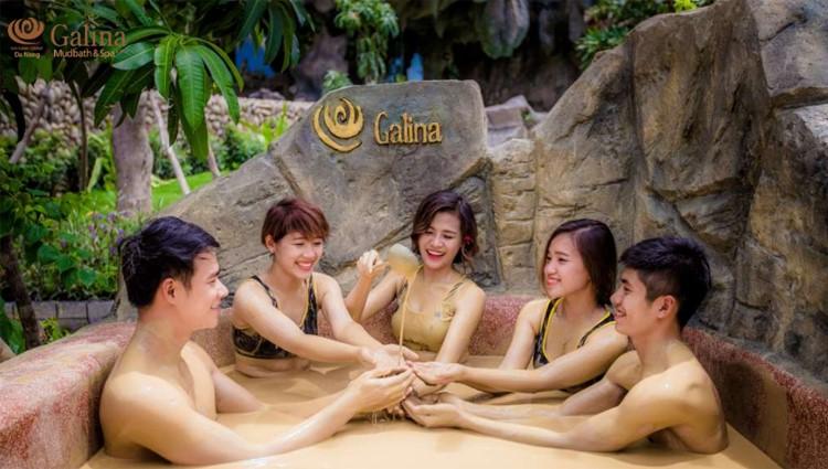 Thiên đường tắm bùn khoáng tại Galina Đà Nẵng Mud Bath & Spa