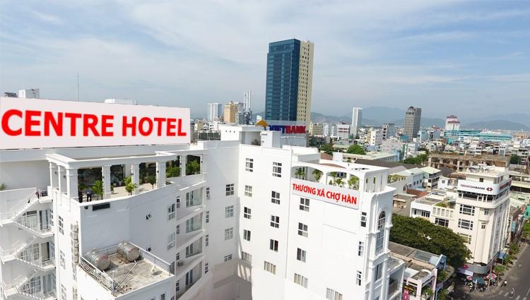 Khách sạn Centre hiện đại, thanh lịch bên dòng sông Hàn Đà Nẵng