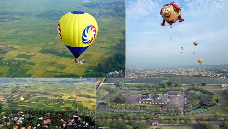 """Chớ bỏ qua """"Lễ hội khinh khí cầu quốc tế 2017"""" tại Huế trong dịp lễ 30/4"""
