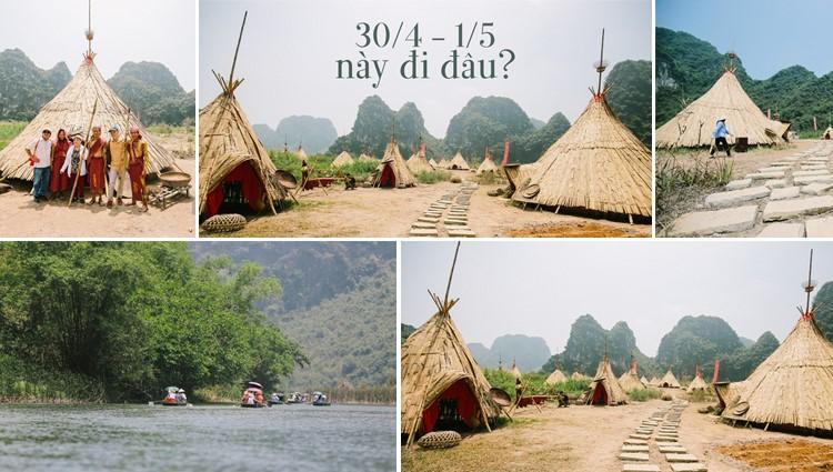 Cuối cùng cũng phục dựng xong, giờ tới Ninh Bình nhất định phải ghé làng thổ dân trong phim Kong!