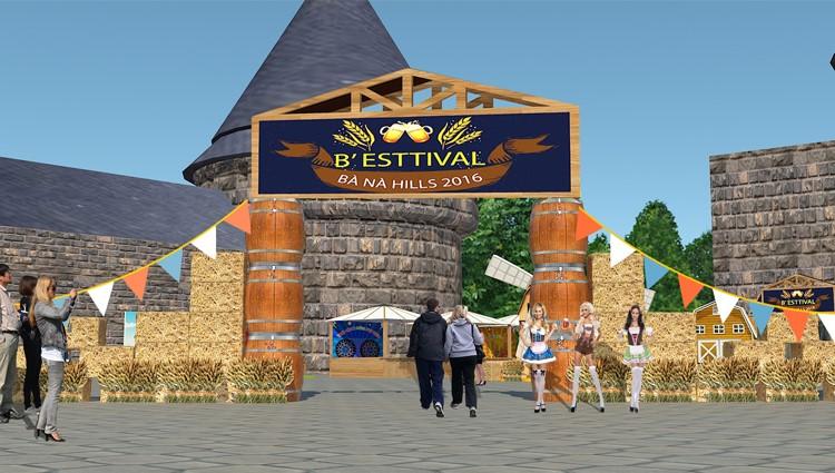 Lễ hội bia B'estival tại Bà Nà Hills từ 26/8 đến 2/9 sắp tới