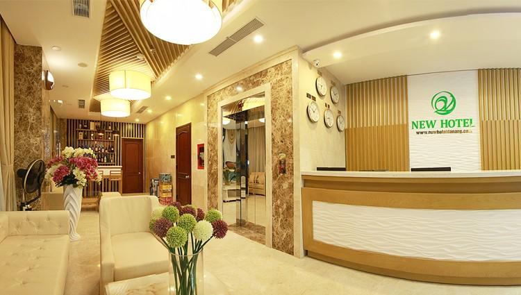 Hiện đại, sang trọng tại New Hotel Đà Nẵng