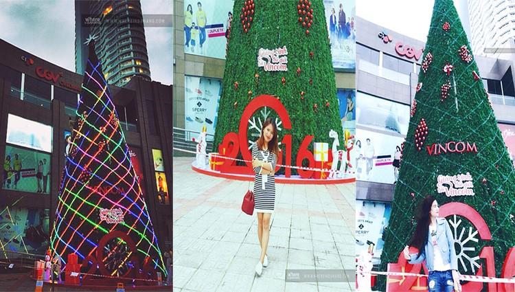 Giáng sinh này đừng bỏ qua cây thông Noel cao nhất Đà Nẵng