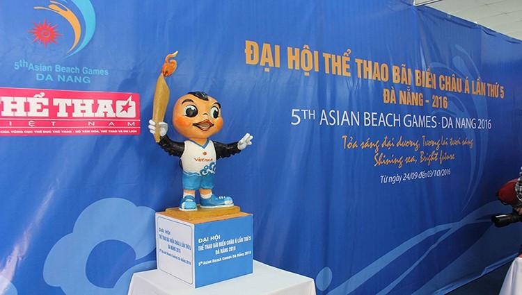 Tất cả đã sẵn sàng cho Đại hội Thể Thao bãi biễn Châu Á lần thứ 5