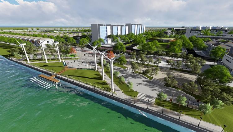 Đà Nẵng sắp có quảng trường ánh sáng bên sông
