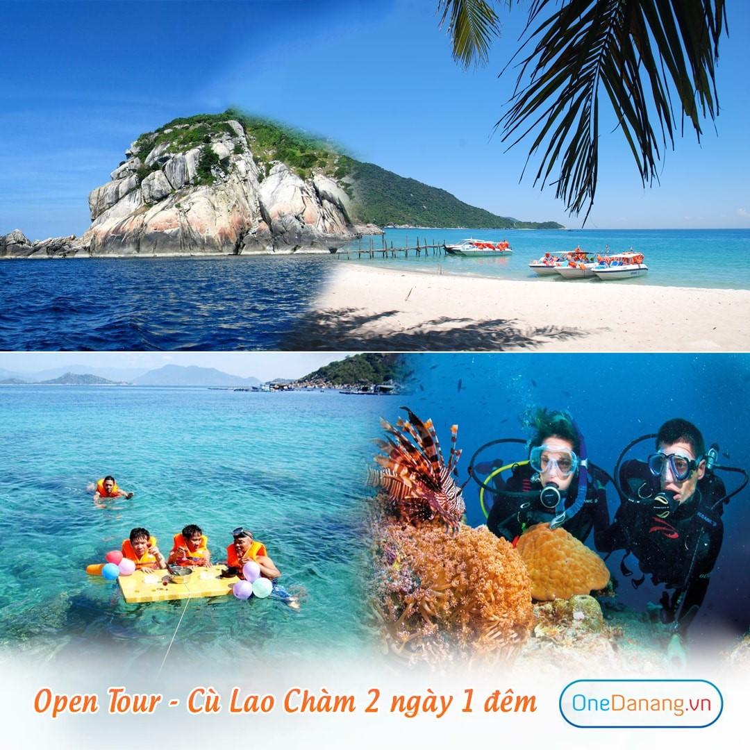 Open Tour - Cù Lao Chàm 2 ngày 1 đêm (xuất phát buổi chiều)